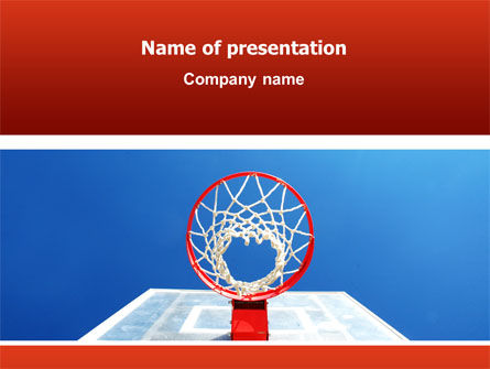Sports: Basket PowerPoint Template #02699