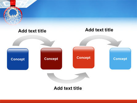 Basket PowerPoint Template, Slide 4, 02699, Sports — PoweredTemplate.com
