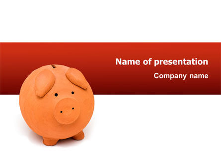 Financial/Accounting: Savings PowerPoint Template #02706