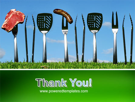 BBQ And Grill Tools PowerPoint Template Slide 20