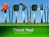 BBQ And Grill Tools PowerPoint Template#20