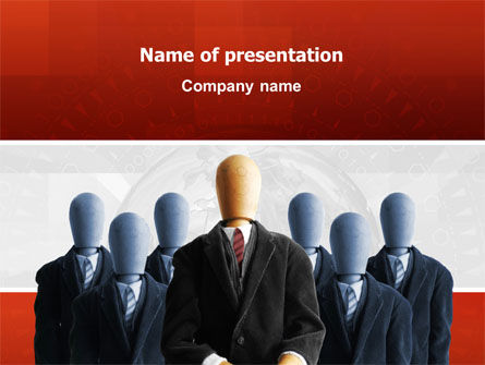 Boss PowerPoint Template, 02711, Careers/Industry — PoweredTemplate.com