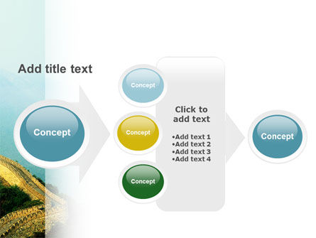 Fragment Of Great Wall of China PowerPoint Template Slide 17