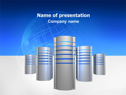 Technology and Science: Hosting Unit PowerPoint Template #02714