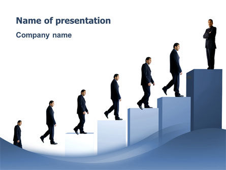 Business: Successful Career PowerPoint Template #02715