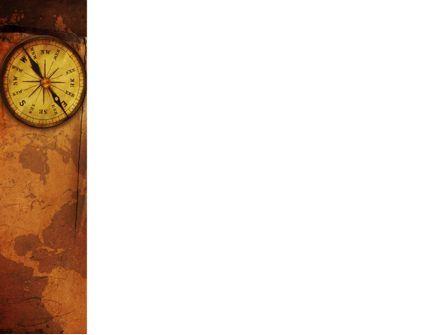 Old Compass PowerPoint Template, Slide 3, 02716, Global — PoweredTemplate.com