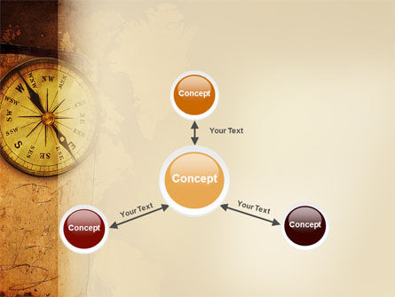 Old Compass PowerPoint Template Slide 14