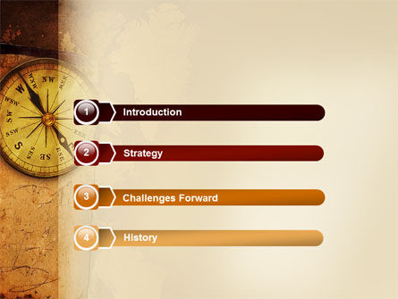 Old Compass PowerPoint Template Slide 3