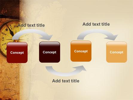 Old Compass PowerPoint Template, Slide 4, 02716, Global — PoweredTemplate.com