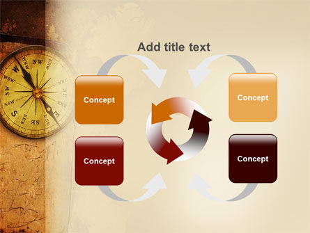 Old Compass PowerPoint Template Slide 6