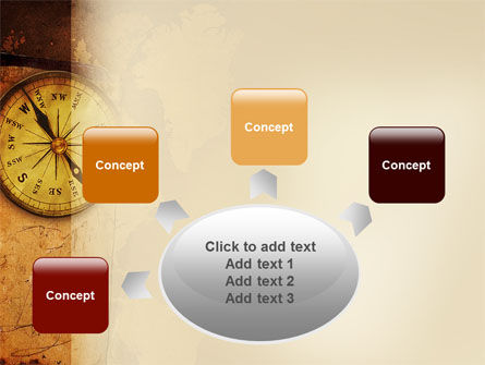 Old Compass PowerPoint Template Slide 7