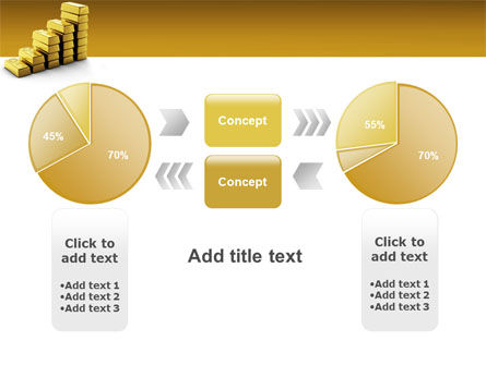 Gold Reserves PowerPoint Template Slide 11