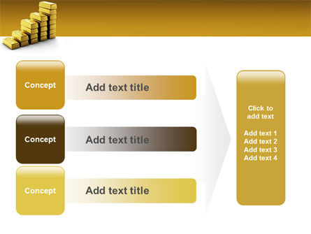 Gold Reserves PowerPoint Template Slide 12