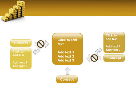 Gold Reserves PowerPoint Template Slide 13