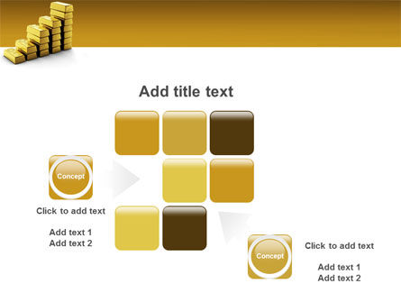 Gold Reserves PowerPoint Template Slide 16