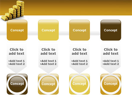 Gold Reserves PowerPoint Template Slide 18