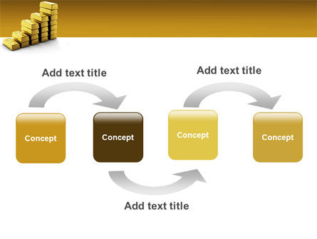 Gold Reserves PowerPoint Template, Slide 4, 02717, Financial/Accounting — PoweredTemplate.com