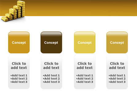 Gold Reserves PowerPoint Template Slide 5