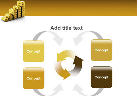 Gold Reserves PowerPoint Template Slide 6
