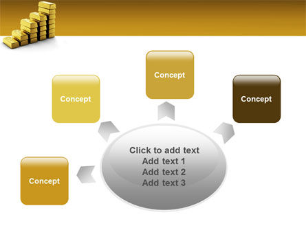 Gold Reserves PowerPoint Template Slide 7