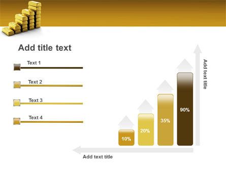 Gold Reserves PowerPoint Template Slide 8