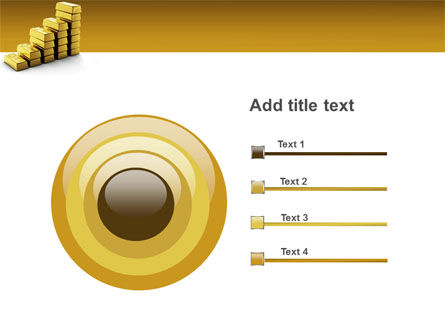 Gold Reserves PowerPoint Template Slide 9