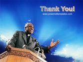 Preacher PowerPoint Template#20