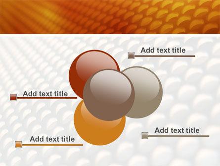 Gray- Orange Grid PowerPoint Template Slide 10