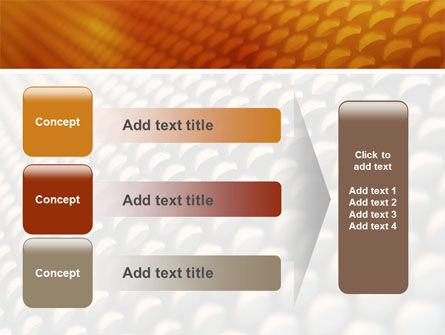 Gray- Orange Grid PowerPoint Template Slide 12