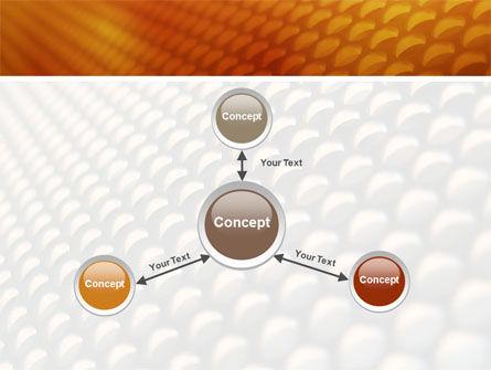 Gray- Orange Grid PowerPoint Template Slide 14