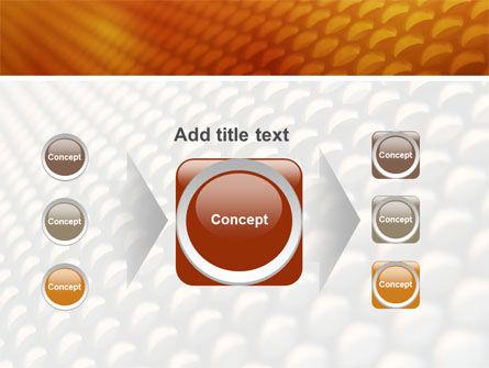 Gray- Orange Grid PowerPoint Template Slide 17