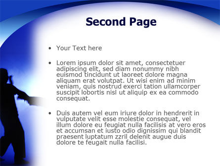 Martial Art PowerPoint Template Slide 2