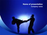 Sports: Martial Art PowerPoint Template #02724