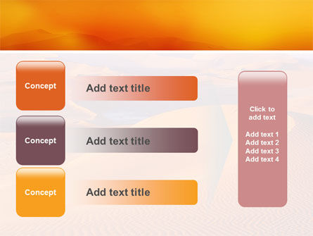 Red Desert PowerPoint Template Slide 12