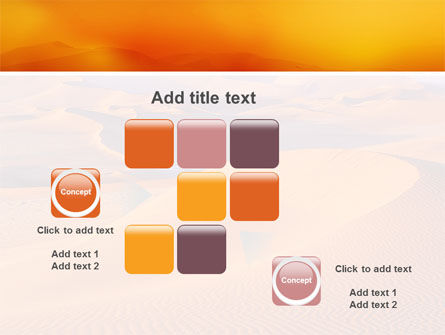 Red Desert PowerPoint Template Slide 16