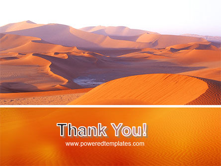 Red Desert PowerPoint Template Slide 20