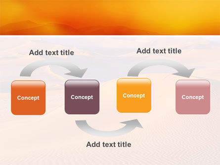 Red Desert PowerPoint Template Slide 4