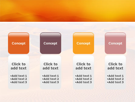Red Desert PowerPoint Template Slide 5