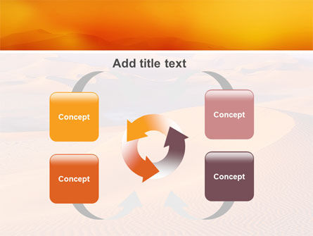 Red Desert PowerPoint Template Slide 6