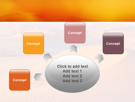 Red Desert PowerPoint Template Slide 7