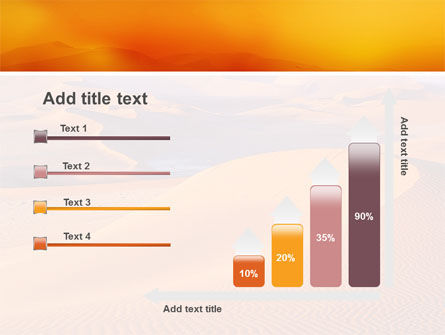 Red Desert PowerPoint Template Slide 8