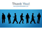 Movement Of People PowerPoint Template#20