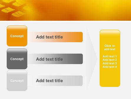 Gray Keyboard PowerPoint Template Slide 12