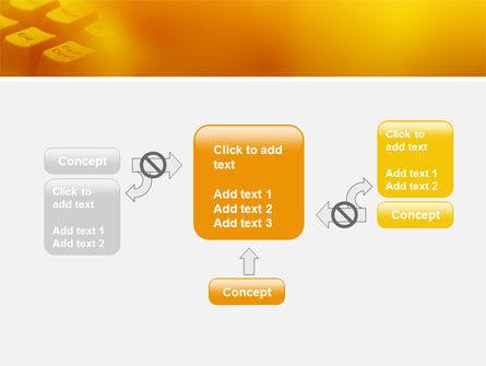 Gray Keyboard PowerPoint Template Slide 13