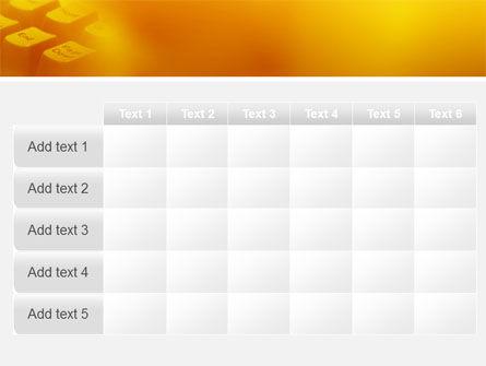 Gray Keyboard PowerPoint Template Slide 15