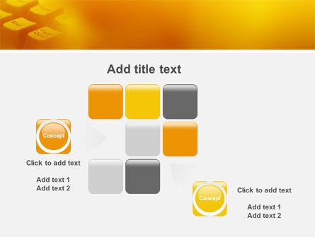 Gray Keyboard PowerPoint Template Slide 16