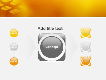 Gray Keyboard PowerPoint Template Slide 17