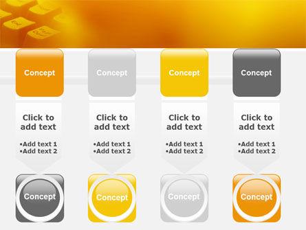 Gray Keyboard PowerPoint Template Slide 18