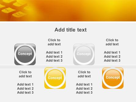 Gray Keyboard PowerPoint Template Slide 19