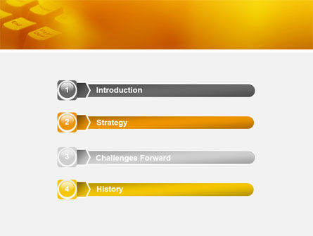 Gray Keyboard PowerPoint Template, Slide 3, 02733, Technology and Science — PoweredTemplate.com